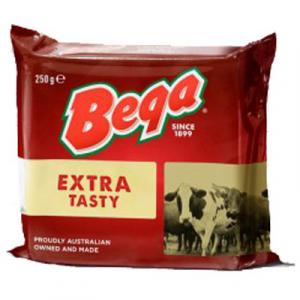 BEGA EXTR TASTY CHEDDAR CHEESE 1 x 250G
