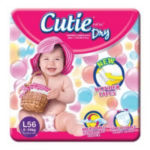 CUTIE DRY MEGA PACK L56 1X1PACK