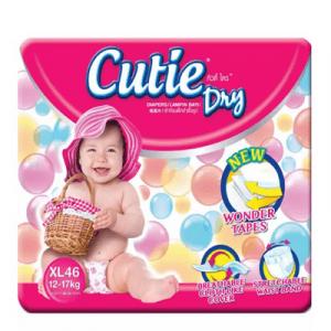 CUTIE DRY MEGA PACK XL46 1X1PACK