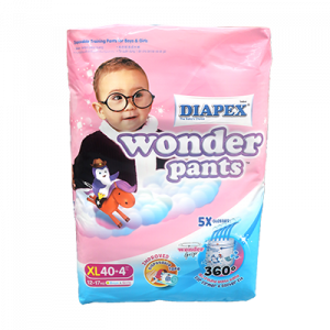 DIAPEX PANTS SUPER JUMBO XL44 1X44S