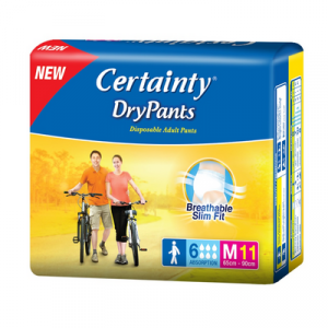 CERTAINTY DAYPANTS M11 1X1PACK