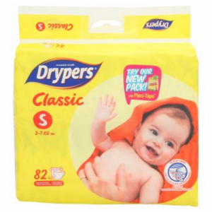 DRYPERS CLASSIC FAMILY PACK S78 1X78'S