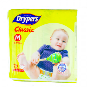 DRYPERS CLASSIC FAMILY PACK M68 1X68'S