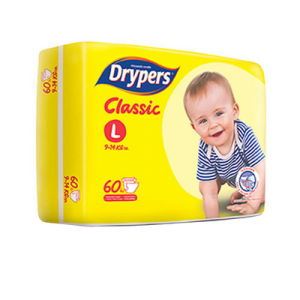 DRYPERS CLASSIC FAMILY PACK L58 1X58'S