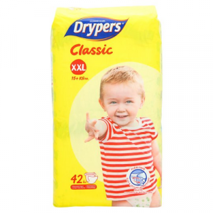 DRYPERS CLASSIC FAMILY PACK XXL42 1X1X42'S
