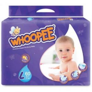 WHOOPEE DIAPER MEGA L60 1X60'S