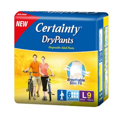 CERTAINTY DRY PANTS L9  1X9'S