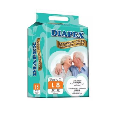 DIAPEX ADULT DIAPER PANTS L10 1X10'S