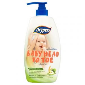 DRYPERS BABY HTT AVOCADO 1X750ML