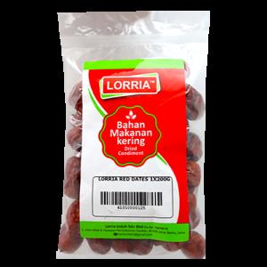 LORRIA RED DATES 1X200G