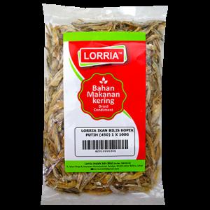 LORRIA IKAN BILIS KOPEK PUTIH (450) 1 X 100G