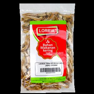 LORRIA IKAN BILIS KASAR A (604) 1X100G