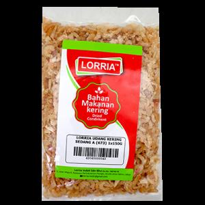 LORRIA UDANG KERING SEDANG A (673) 1x150G