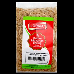 LORRIA UDANG KEPAL KUNING (472)  1 x 100G