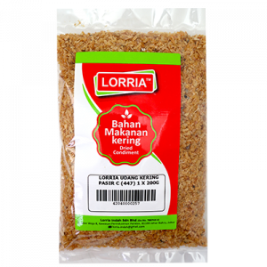 LORRIA UDANG KERING PASIR C (447) 1 X 200G