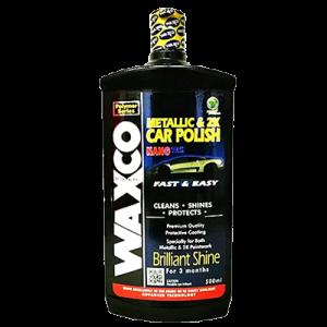 WAXCO METALLIC & 2K CAR POLISH -500ML 1x1'S