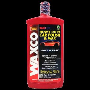 WAXCO HEAVY DUTY CAR POLISH -500ML 1x1'S
