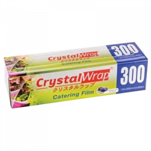 CRYSTAL WRAP CATERING FILM 300MMX300MM