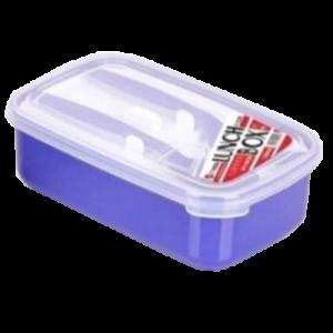 E-1228 1300ML LUNCH BOX W/SPOON&FORK 1X1'S