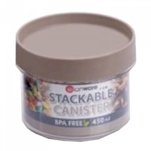 E-1103 450ML STACKABLE CANISTER