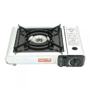 HP-2002S PORTABLE GAS STOVE S/S 1x1'S