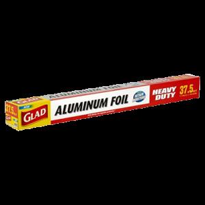 GLAD ALUMINIUM FOIL 37.5SQ FT 1X1SET