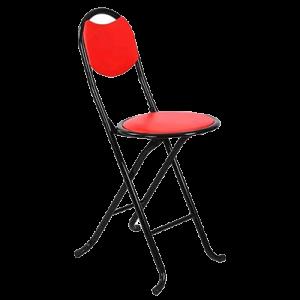 JH6975 ROUND SEAT FOLDING CHAIR (31X34X72CM)