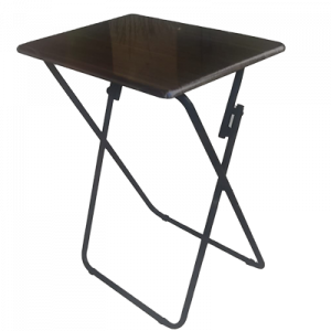 JH33 #6886 FOLDING TABLE WOODEN TOP