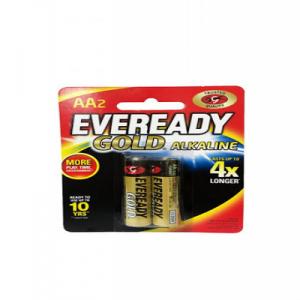 EVEREADY GOLD AA 2PCS 1X2'S