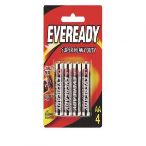 EVEREADY SUPER HEAVY DUTY AA 4PCS 1X4'S
