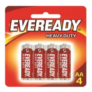 EVEREADY H/DUTY AA (1015BP4M) 1X4'S